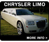 Chrysler 300 'Baby Bentley' 8 Seater Limo Hire Leicester